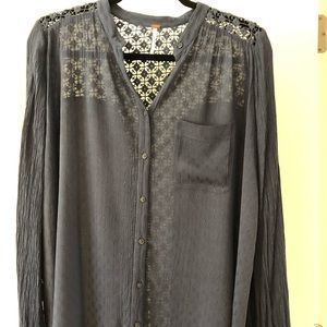 Free People - The Best Button Down Size XS